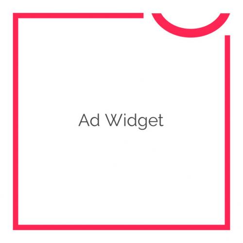 Ad widget 2.2