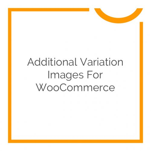 Additional Variation Images for WooCommerce 1.7.10