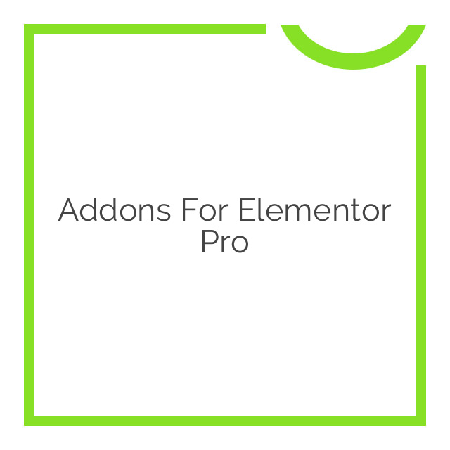 Addons for Elementor Pro 1.7