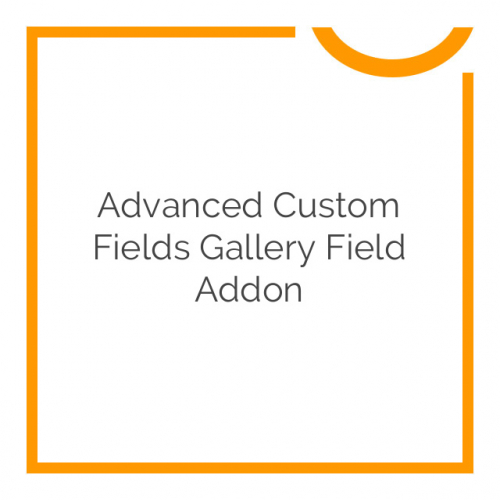 Advanced Custom Fields Gallery Field Addon 1.1.1