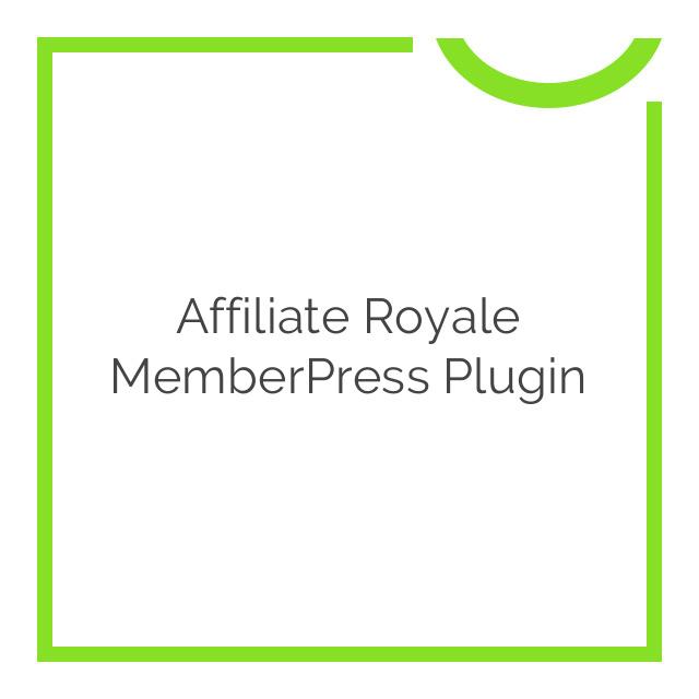 Affiliate Royale MemberPress Plugin 1.4.9