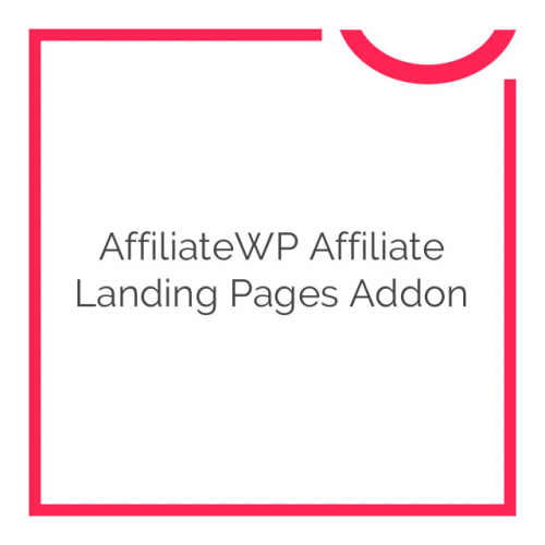 AffiliateWP Affiliate Landing Pages Addon 1.0.1
