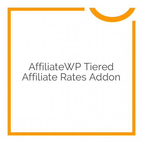 AffiliateWP Tiered Affiliate Rates Addon 1.1
