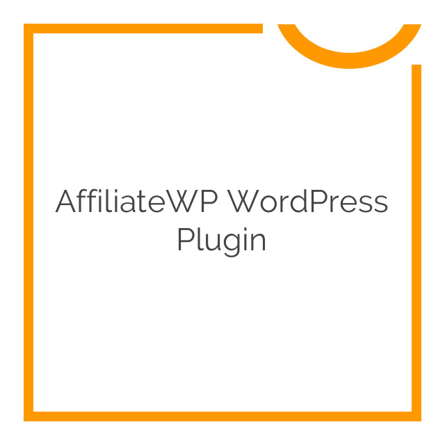 AffiliateWP WordPress Plugin 2.1.9