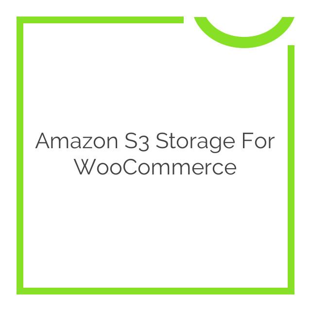 Amazon S3 Storage for WooCommerce 2.1.7