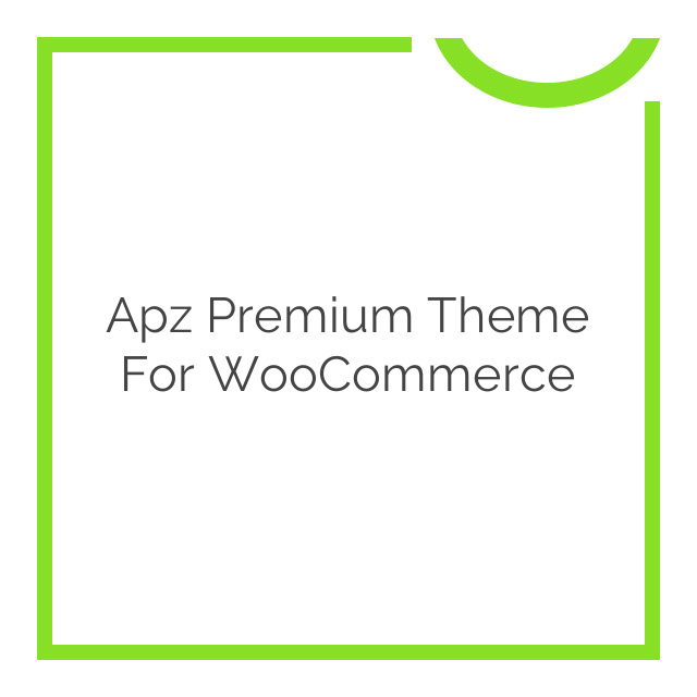 Apz Premium Theme for WooCommerce 2.0.4