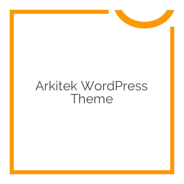 Arkitek WordPress Theme 1.1.0