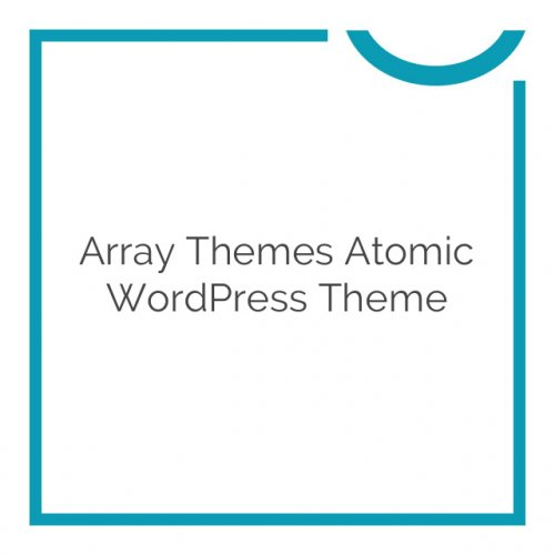 Array Themes Atomic WordPress Theme 2.2.2
