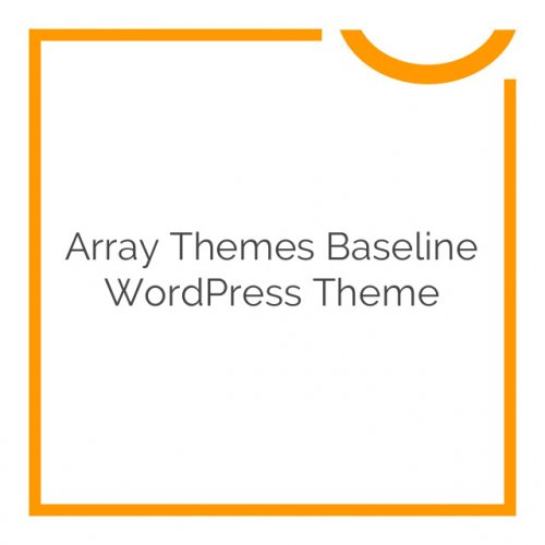 Array Themes Baseline WordPress Theme 1.2.7
