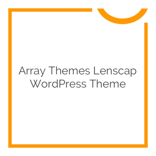 Array Themes Lenscap WordPress Theme 1.3.4