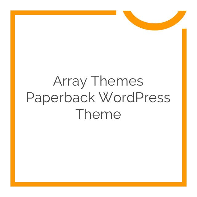 Array Themes Paperback WordPress Theme 1.7.6