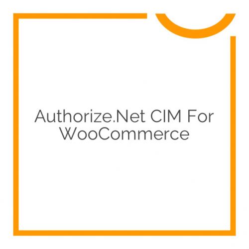 Authorize.Net CIM for WooCommerce 2.8.0