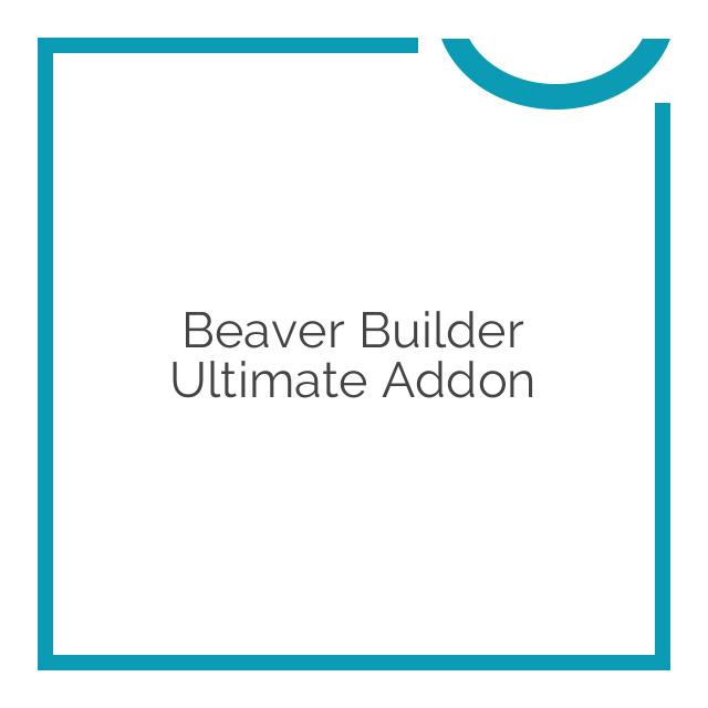 Beaver Builder Ultimate Addon 1.6.7