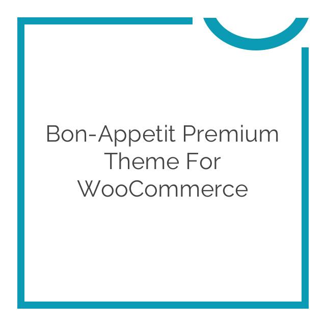 Bon-Appetit Premium Theme for WooCommerce 1.0.2