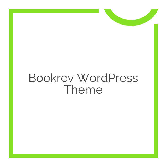 Bookrev WordPress Theme 1.1.5