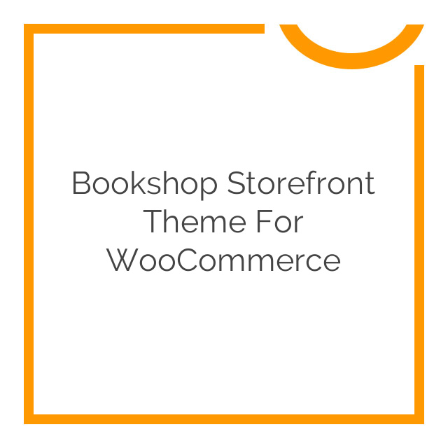 Bookshop Storefront Theme for WooCommerce 1.0.11