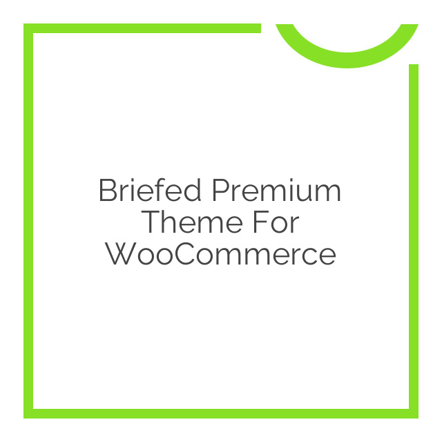 Briefed Premium Theme for WooCommerce 1.2.4