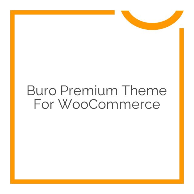 Buro Premium Theme for WooCommerce 1.3.10