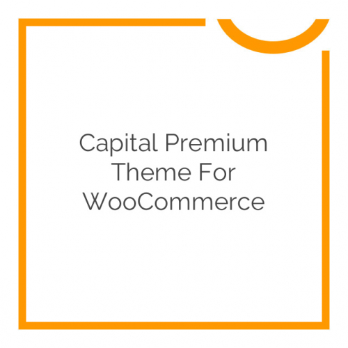 Capital Premium Theme for WooCommerce 1.4.1