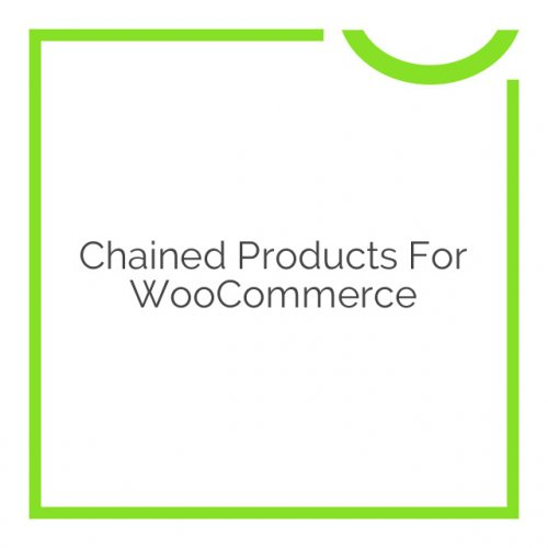 Chained Products for WooCommerce 2.5.7