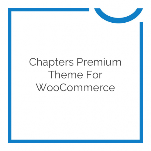 Chapters Premium Theme for WooCommerce 1.0.8
