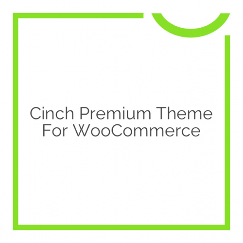 Cinch Premium Theme for WooCommerce 2.1.1