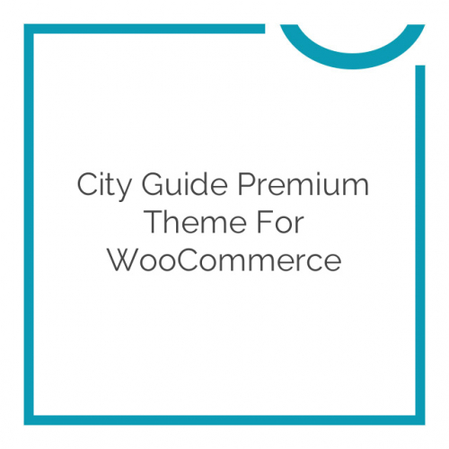 City Guide Premium Theme for WooCommerce 1.6.7