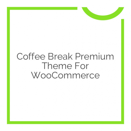 Coffee Break Premium Theme for WooCommerce 2.4.4