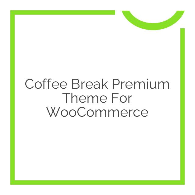 Coffee Break Premium Theme for WooCommerce 2.4.4
