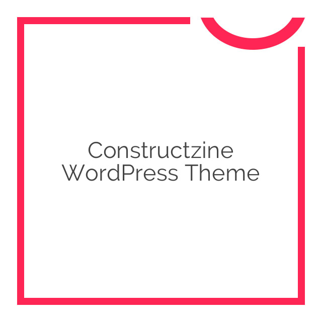 Constructzine WordPress Theme 1.1.9