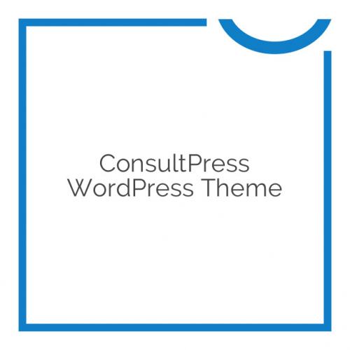 ConsultPress WordPress Theme 1.4.0