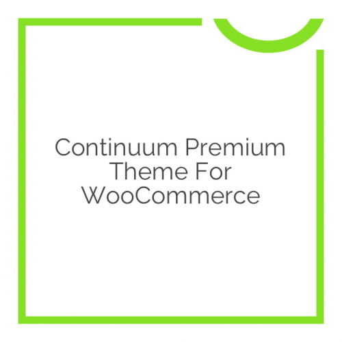 Continuum Premium Theme for WooCommerce 1.1.2