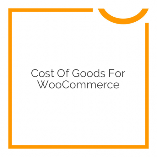 Cost Of Goods for WooCommerce 2.5.0