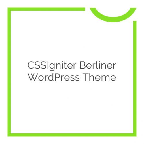 CSSIgniter Berliner WordPress Theme 1.7