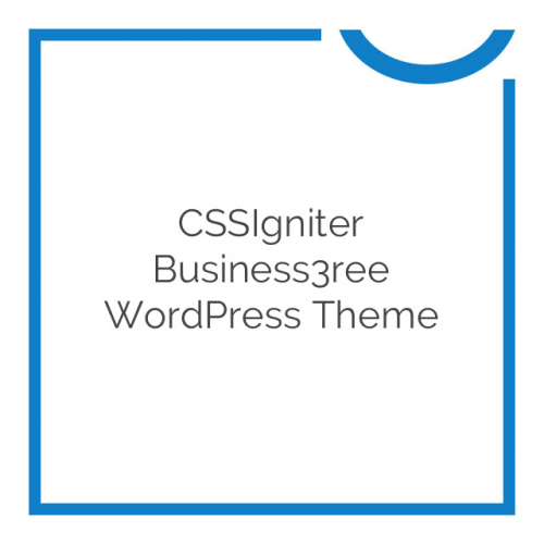 CSSIgniter Business3ree WordPress Theme 2.0.0