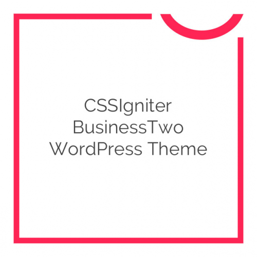 CSSIgniter BusinessTwo WordPress Theme 1.5