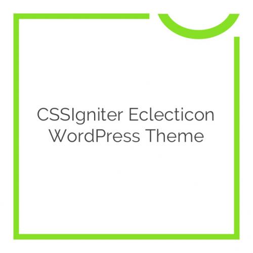 CSSIgniter Eclecticon WordPress Theme 1.1