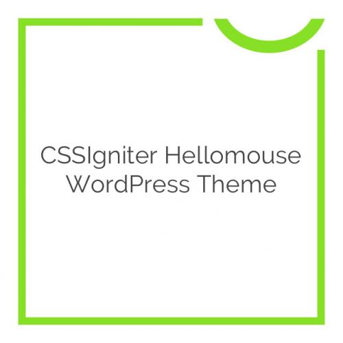 CSSIgniter Hellomouse WordPress Theme 1.1