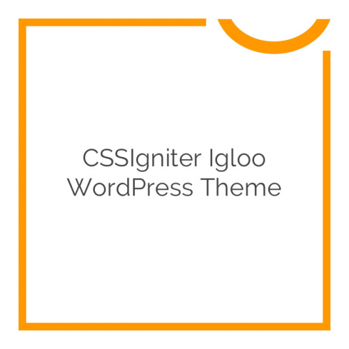 CSSIgniter Igloo WordPress Theme 1.6