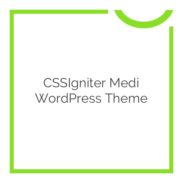CSSIgniter Medi WordPress Theme 1.5