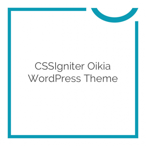 CSSIgniter Oikia WordPress Theme 1.3.1