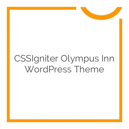 CSSIgniter Olympus Inn WordPress Theme 1.4.1