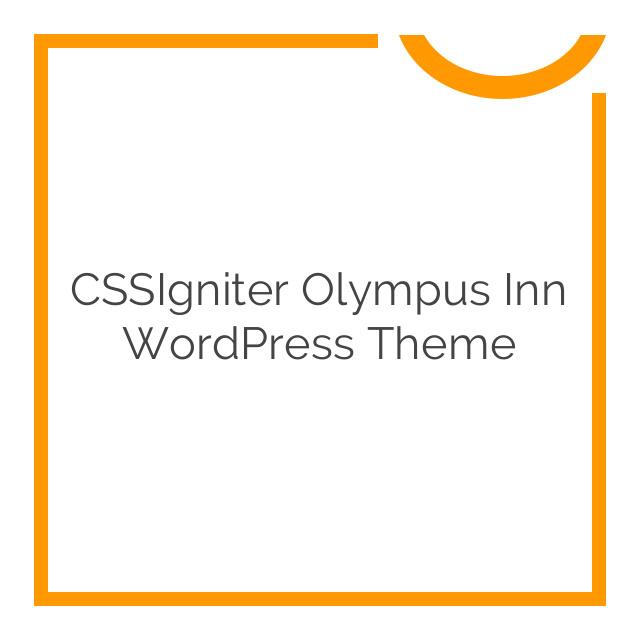 CSSIgniter Olympus Inn WordPress Theme 1.4.1