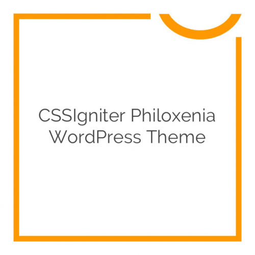 CSSIgniter Philoxenia WordPress Theme 2.4