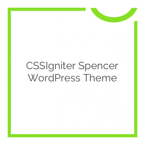 CSSIgniter Spencer WordPress Theme 1.2.0