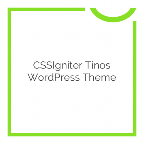 CSSIgniter Tinos WordPress Theme 1.5