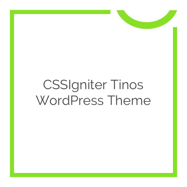 CSSIgniter Tinos WordPress Theme 1.5