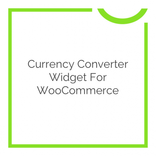 Currency Converter Widget for WooCommerce 1.6.6