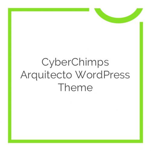 CyberChimps Arquitecto WordPress Theme 1.4