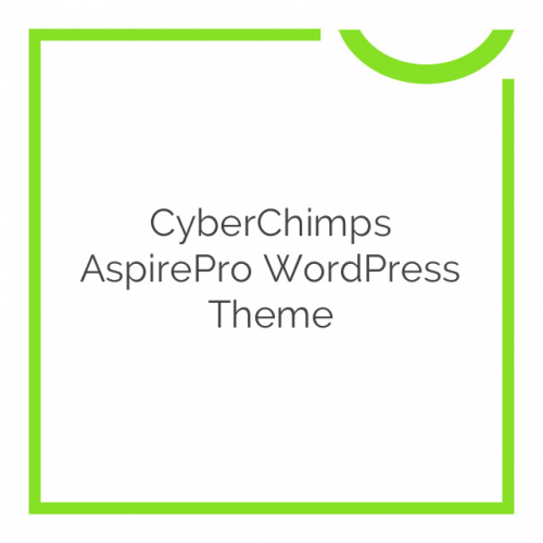 CyberChimps AspirePro WordPress Theme 1.5